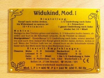 Getreidemühlen Test WIDU Widukind Modell I